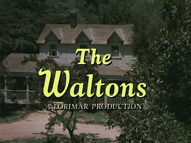 The Waltons logo for the second part of Season 1