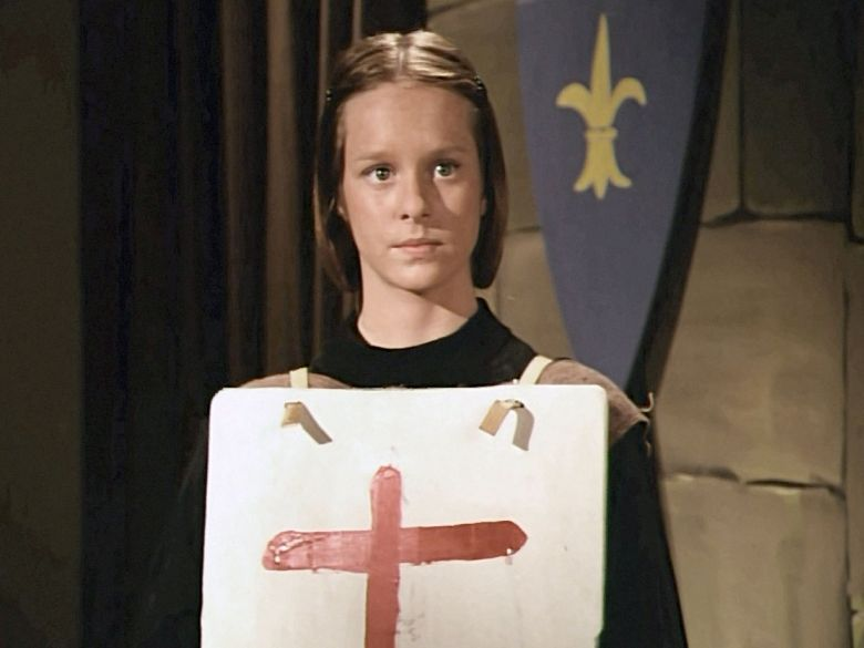 Erin as Joan of Arc