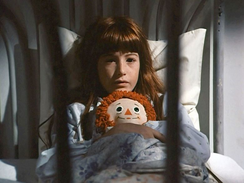 Elizabeth and her doll