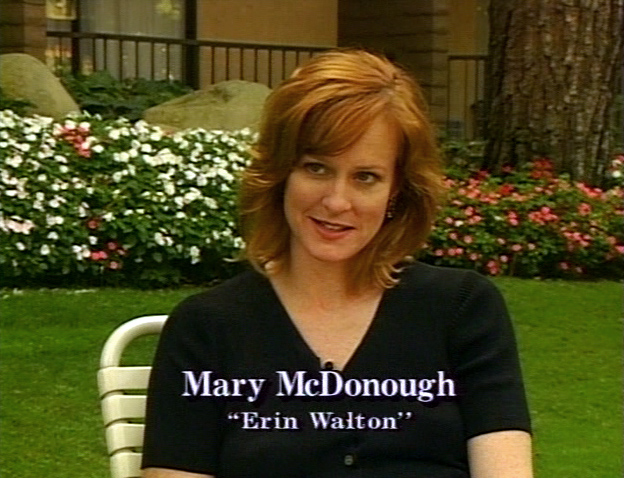 Mary McDonough from The Walton Legacy documentary